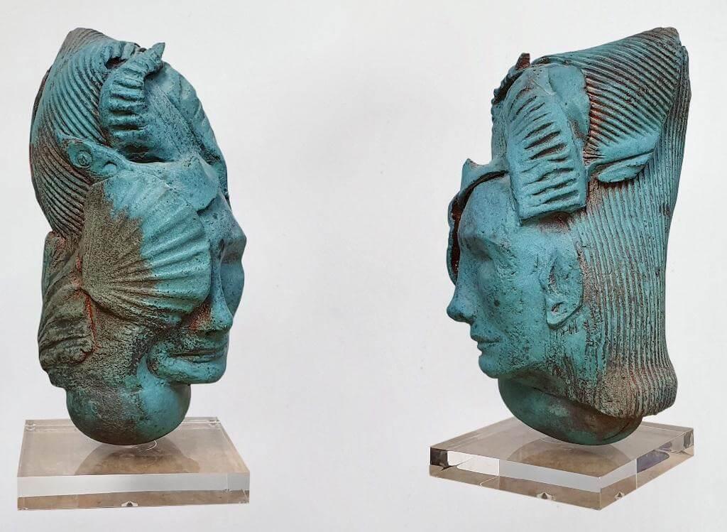 Sirène- Ceramic (H42cm-W19cm-D25cm)