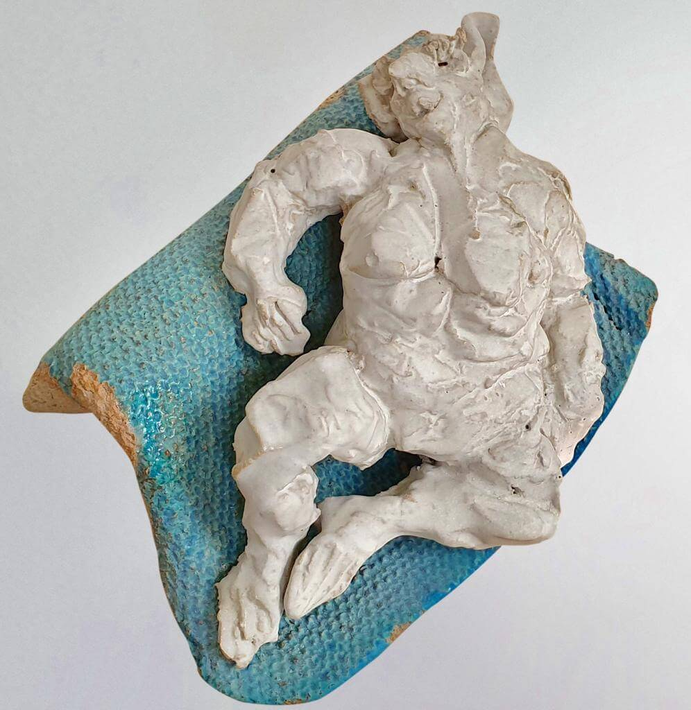 Waiting - Ceramic (10cm-W20cm-D18cm)