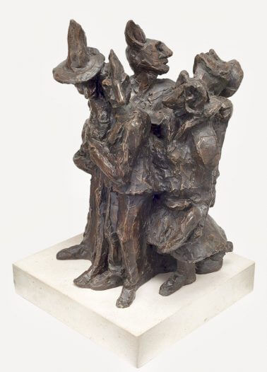 Carnival-Bronze-Resin-25cm-x-57cm-x-28cm-copy1