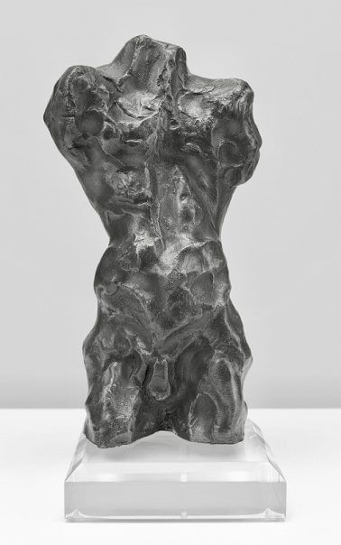 Torso-Bronze-Resin-24cm-x-10cm-x-10cm