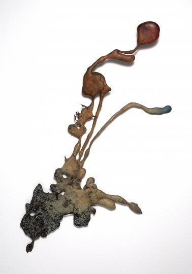 Amazon Flower (Bronze) W26cm x H64cm x D3cm
