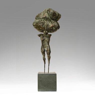 The Immigrant (Bronze) 21cm x 70cm x 18cm