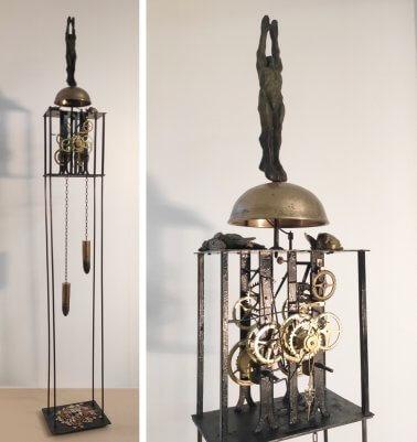 Supremacy (Bronze-Metal) H195cm x W30cm x D23cm